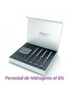 KIT VIP de 4 Jeringas de 3 ml (3,2gr) de Peroxiod de Hidrogeno al 6%